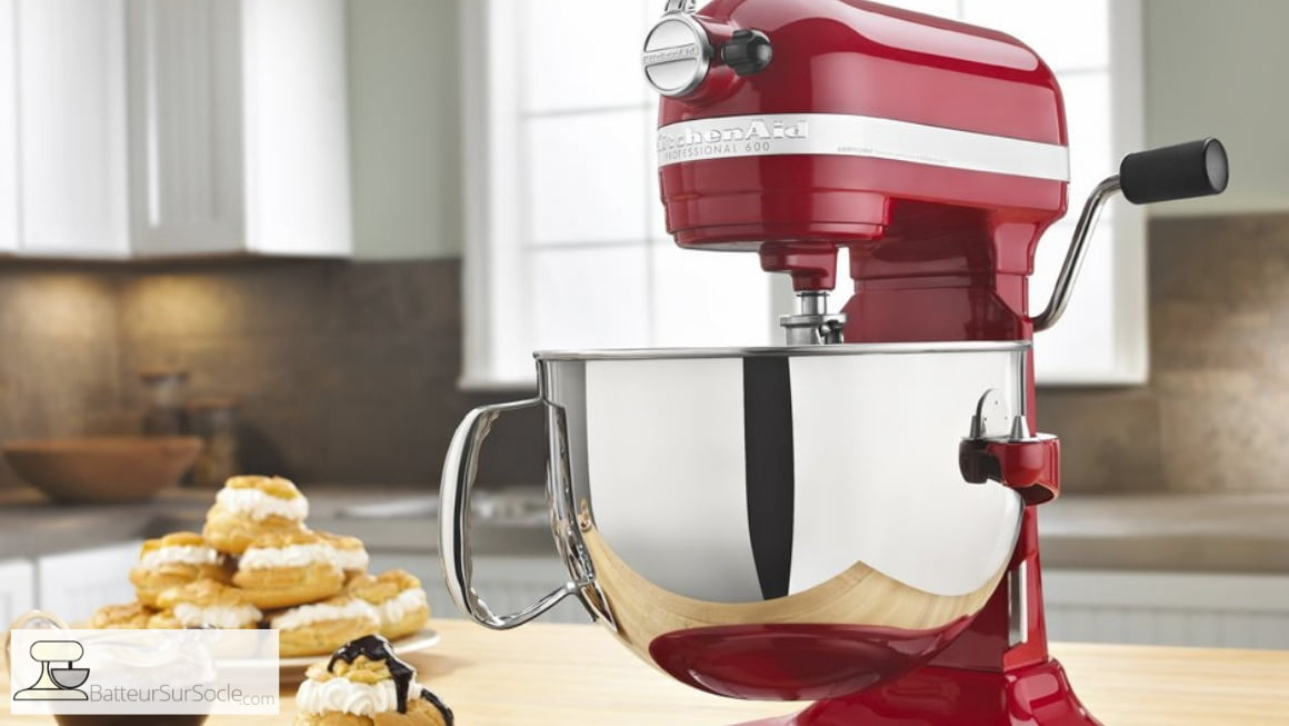 Batteur sur socle Pro 600 de KitchenAid